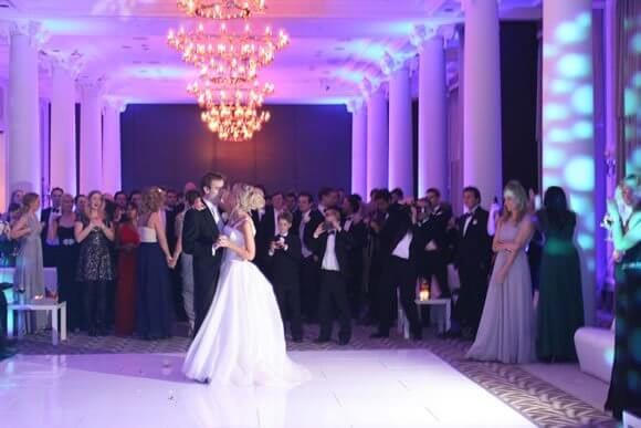 DJ Mark performed at a Wedding at the Waldorf in London.