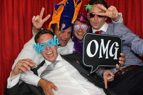 Platinum DJs also provide Photo Booth hire for Weddings, Parties and Events.