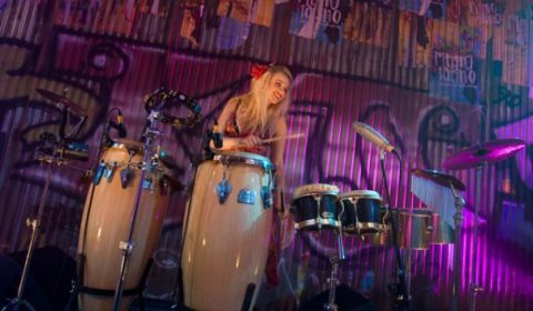 Percussionist and London DJ Lyndsay performs at Birthday Parties, Weddings, Corporate Events and in Clubs.