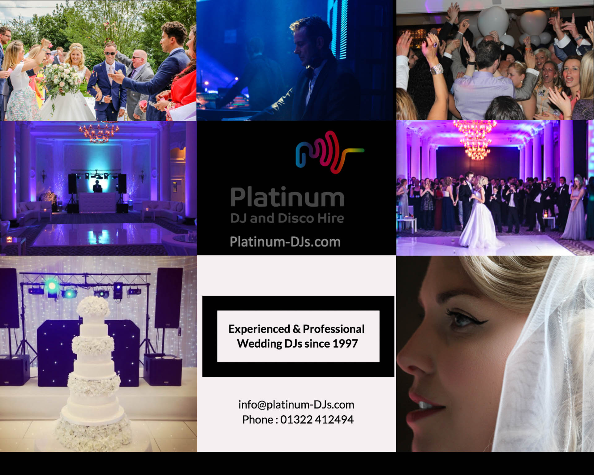 Platinum DJs has been providing professional and experienced DJs since 1997.