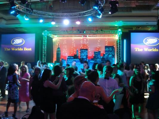 Corporate Event DJ with Platinum DJs for Boots Annual Award Dinner