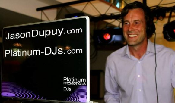 At a Corporate Event in London with Professional DJ Jason Dupuy
