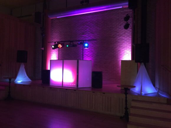 Sound System and Discotheque for DJ David.