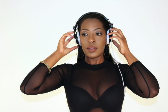 DJ Keshia is a female DJ performing for Platinum DJs.