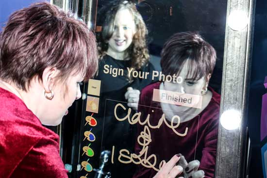 Hire a  selfie mirror in Kent, London, Surrey and Essex.