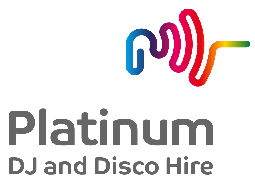 Platinum DJs in Kent official logo.